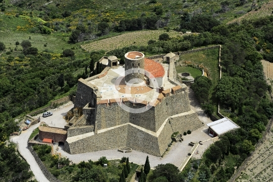 Collioure: le fort Saint-Elme